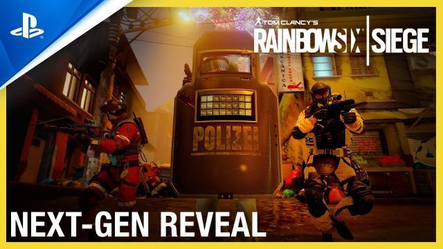 Rainbow Six Siege - Next-Gen Reveal Trailer | PS5, PS4