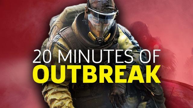20 Minutes of Outbreak - Rainbow Six Siege Outbreak Gameplay