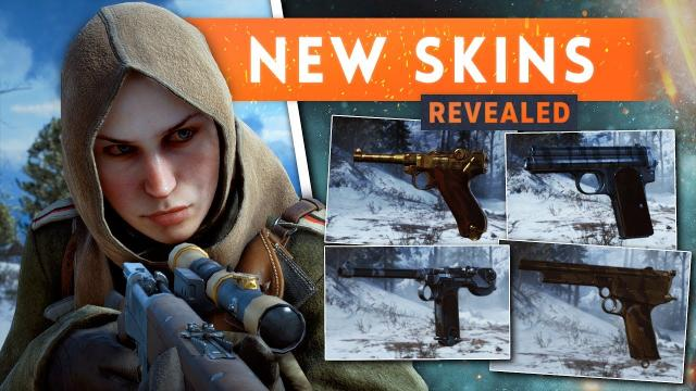 ► NEW PISTOL WEAPON SKINS REVEALED! - Battlefield 1 In The Name Of The Tsar DLC