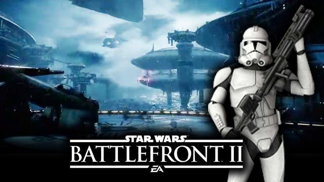 Star Wars Battlefront 2 New Trailer Breakdown: Kamino Gameplay Clip! Clone Wars Space Battles!