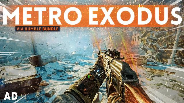 The BEST LOOKING First Person Shooter? - Metro Exodus PC Enhanced Edition Gameplay (Humble Bundle)