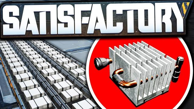 Advanced Tier 7 Heat Sink Production! - Satisfactory Early Access Gameplay Ep 63