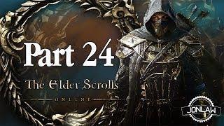 The Elder Scrolls Online Walkthrough - Part 24 RESTORING ORDER - Gameplay&Commentary
