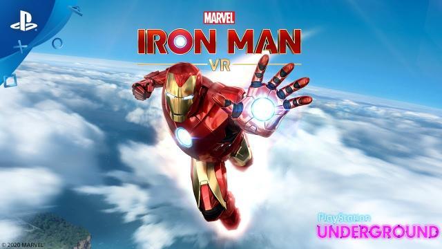 Marvel's Iron Man VR – Demo Gameplay | PlayStation Underground