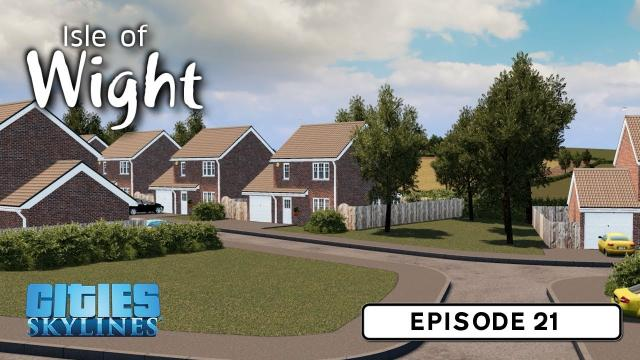 Town Expansion - Cities: Skylines: Isle of Wight - 21