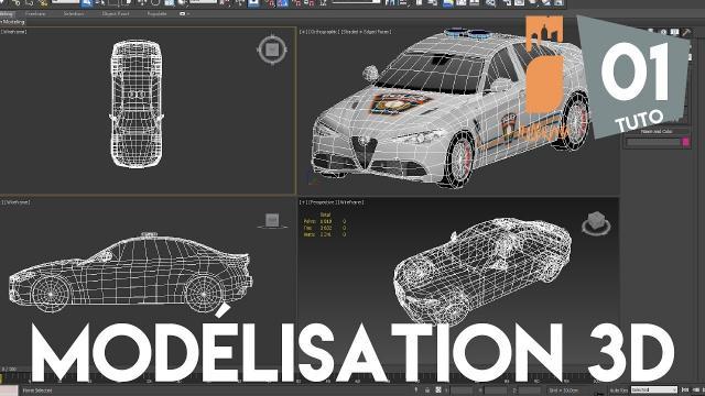 La Creation d'Assets Cities Skylines de A à Z - Partie 1 : La Modélisation 3D