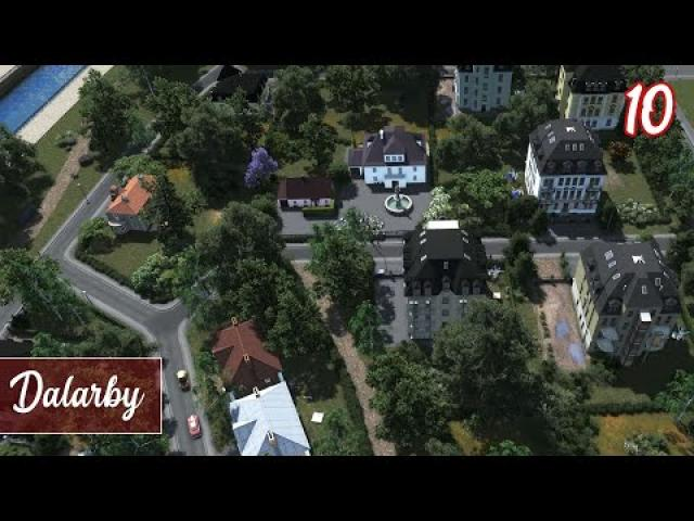 Luxury Apartments & Terraforming! - Cities Skylines: Dalarby (ep.10)