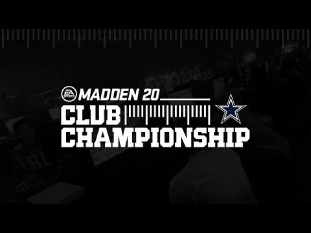 Madden 20 Dallas Cowboys Club Championship