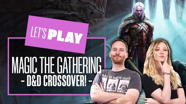 Let's Play Magic: the Gathering Adventures in the Forgotten Realms preview event in Gather!