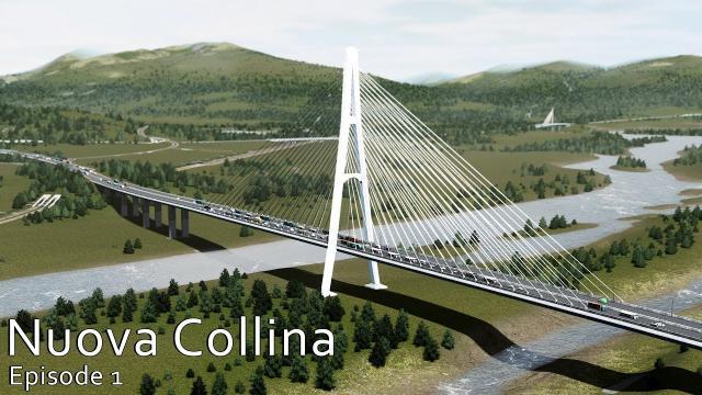 Cities Skylines: Nuova Colina - Italian style series! #EP1