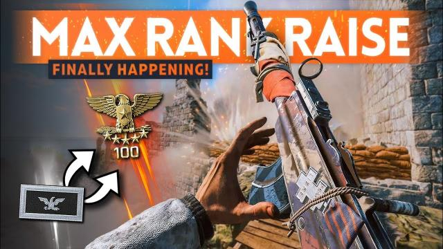 MAX RANK INCREASE ????️ It's Finally Happening! - Battlefield 5 Update