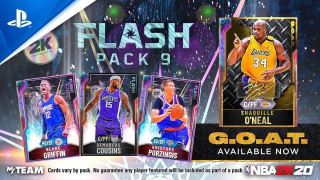 NBA 2K20 - MyTEAM: Flash Pack 9 | PS4