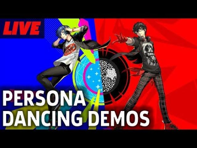 Persona 3: Dancing In Moonlight and Persona 5: Dancing In Starlight Demos Live