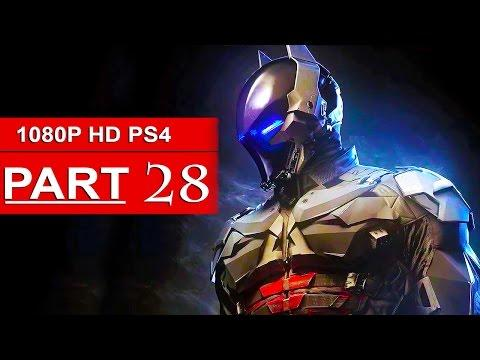 arkham knight ps4 gameplay 1080p hd