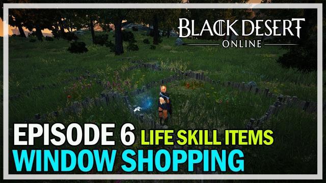 Window Shopping Episode 6 - Life Skill Items - Black Desert Online