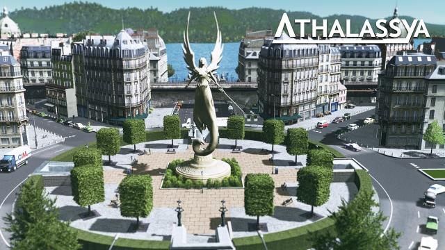 Cities Skylines Athalassya [2] The Guardian Plaza
