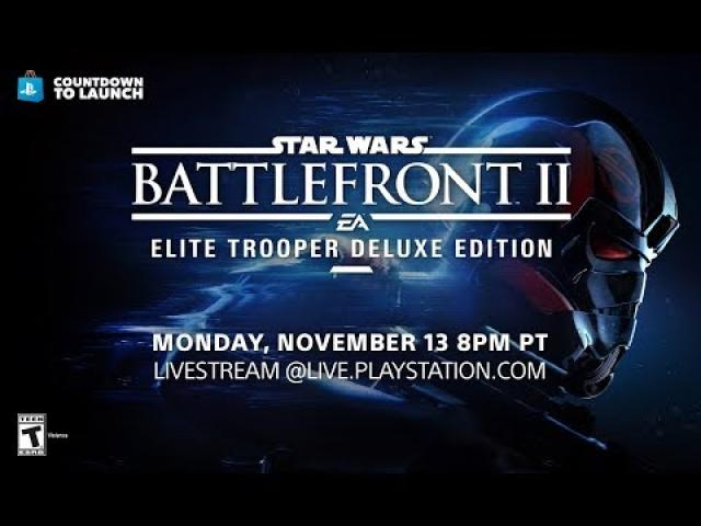 Star Wars Battlefront II   Countdown to Launch