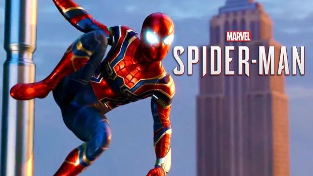 Marvel's Spider-Man - Iron Spider Suit Reveal Trailer