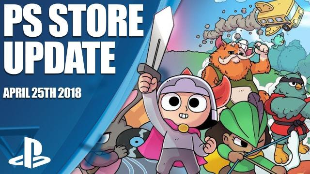 PlayStation Store Highlights - 25th April 2018
