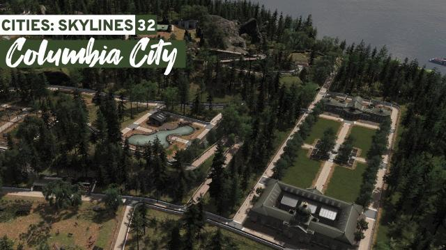 Building a Zoo - Cities Skylines: Columbia City #32