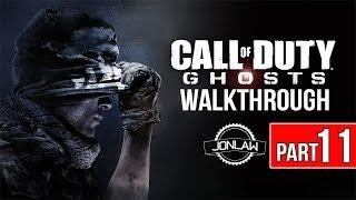 Call of Duty Ghosts Walkthrough - Part 11 SHARK ATTACK - Let's Play Gameplay&Commentary