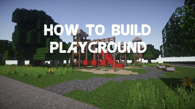 Minecraft | How to build: Playground - Part 2