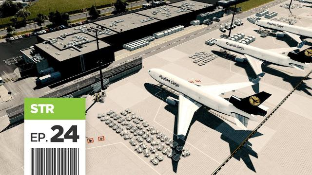 Cities Skylines: FBS International Airport — Part 24 — Finishing the Cargo Area
