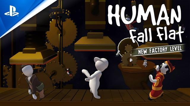 Human: Fall Flat - Factory Launch Trailer | PS4