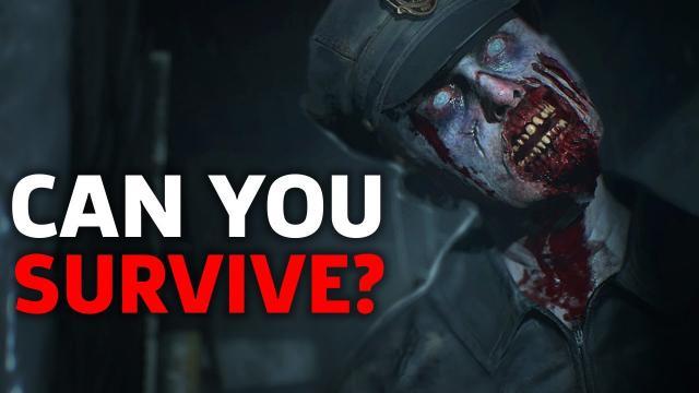 Resident Evil 2 Remake Gameplay | E3 2018