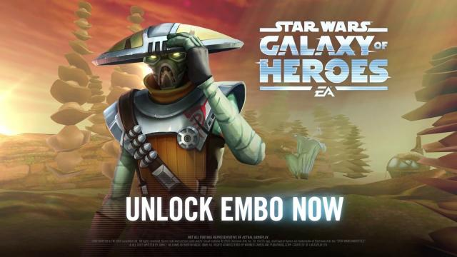 Star Wars: Galaxy of Heroes - Embo has Arrived