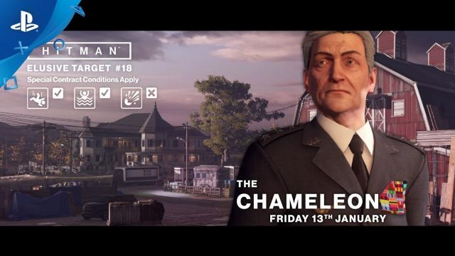 HITMAN - Elusive Targets: The Chameleon Trailer | PS4