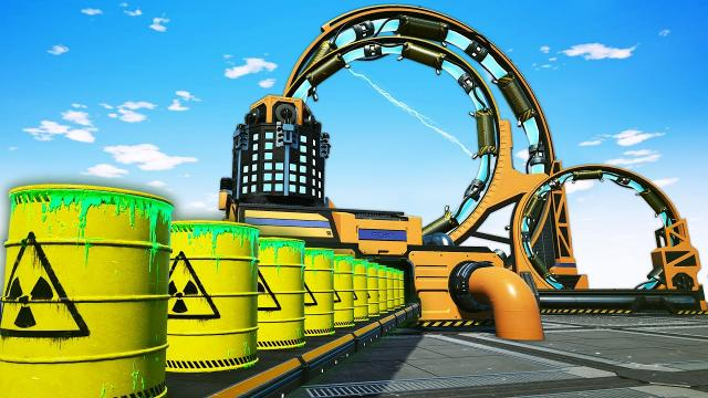 The SOLUTION to the World's Nuclear Waste Problem in Satisfactory!