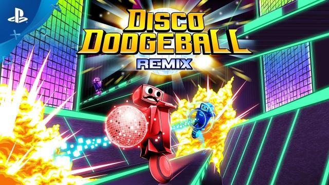 Disco Dodgeball Remix – Launch Trailer | PS4