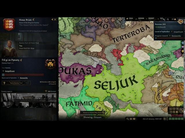 Crusader Kings 3 Trainer +8