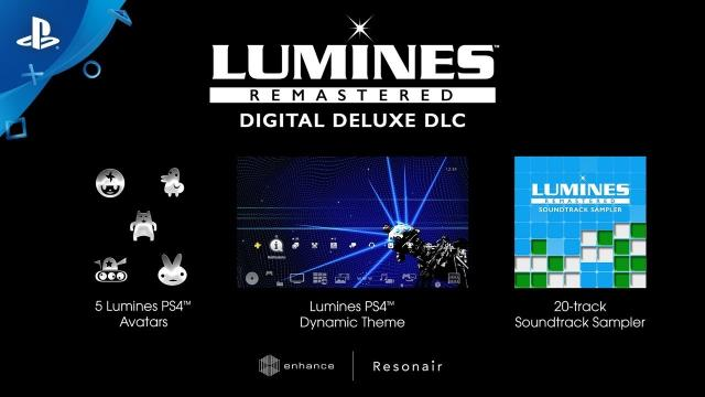 Lumines Remastered - Digital Deluxe DLC Bundle | PS4