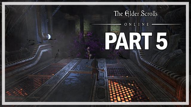 The Elder Scrolls Online Clockwork City Sorcerer Let's Play Part 5 - Unto the Dark