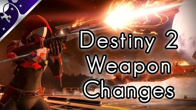 Destiny 2 Weapons: Loadout Changes, Mods, and Foundries!