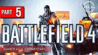 Battlefield 4 Walkthrough - Part 5 USS TITAN - Let's Play Gameplay&Commentary BF4