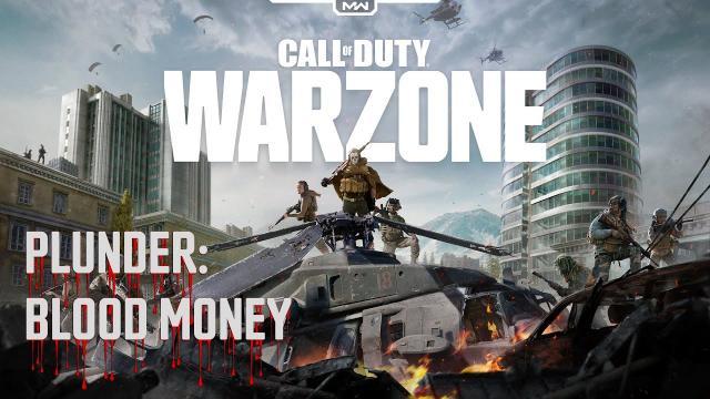 COD Warzone - RANK DIAMOND | OPEN BUNKER | PLUNDER: BLOOD MONEY | Video #089