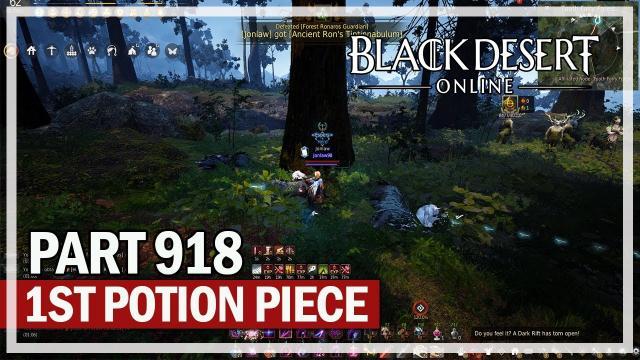 Black Desert Online - Dark Knight Let's Play Part 918 - 1st Piece Done!