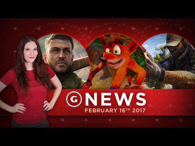 Sniper Elite 4 PS4 Pro Frame Rate 2x Xbox One & Wildlands Beta! - GS Daily News