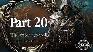 The Elder Scrolls Online Walkthrough - Part 20 CORAL HEART - Gameplay&Commentary