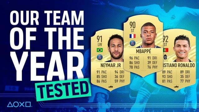FIFA 21 TOTY - We Play With Our Team Of The Year!
