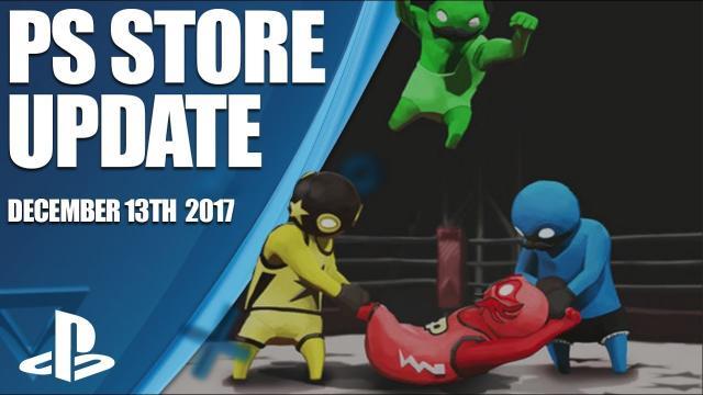 PlayStation Store Highlights - 13th December 2017