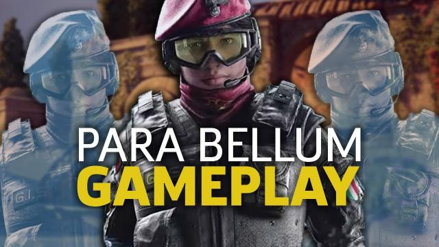 Rainbow Six Siege: Alibi & Maestro on Villa | Para Bellum Gameplay