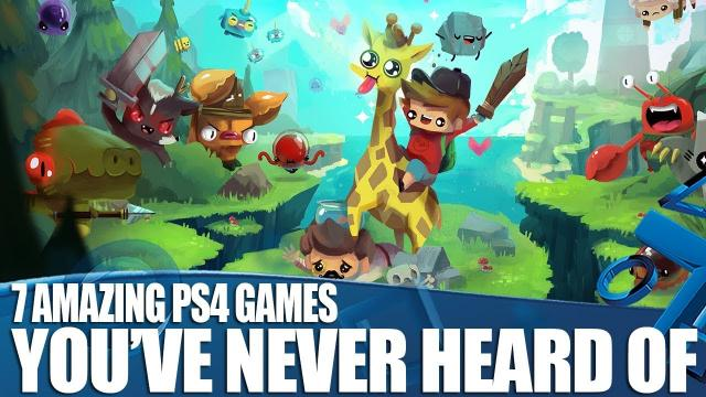 7 Amazing New PS4 Games You've Never Heard Of!