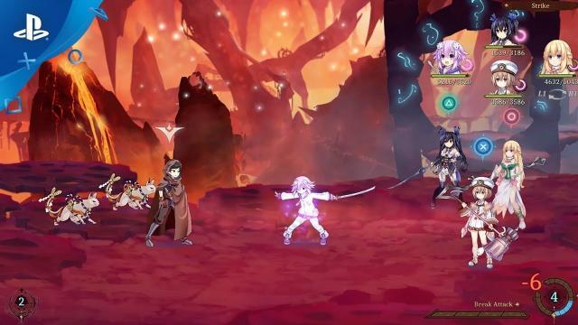 Super Neptunia RPG - Gameplay Trailer | PS4