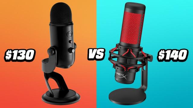 Best USB Mics Under $150 - Hyper X Quadcast vs Blue Yeti