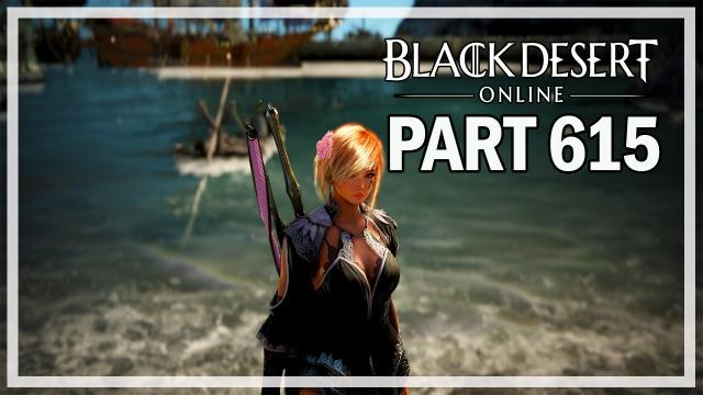 Black Desert Online - Dark Knight Let's Play Part 614 - Sea Monster Hunting