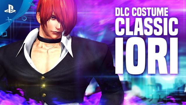 The King of Fighters XIV - Classic Iori Costume Trailer | PS4
